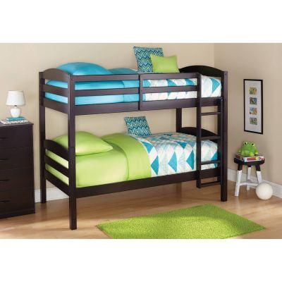 Деревянная двухъярусная кровать-трансформер Twin Wood
