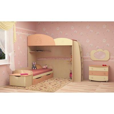 Детская деревянная кровать-чердак Слипкид с игровой зоной