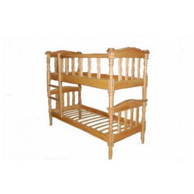 Двухъярусная Деревянная Кровать Эльдорадо
