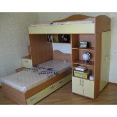 Кровать-чердак Комби-5Д