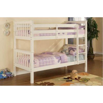Деревянная Двухъярусная Кровать Паво