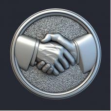 Панно Рукопожатие
