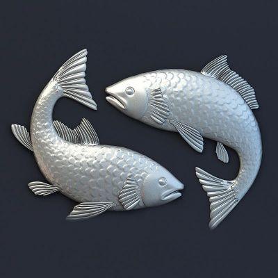 Барельеф Рыбы-2