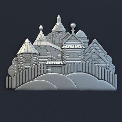 Барельеф Замок