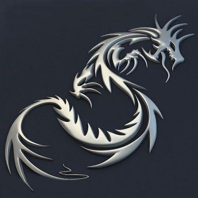 Барельеф Дракон