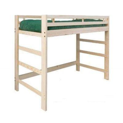 Детская деревянная кровать-чердак Рокс