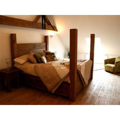 Кровать с балдахином Куба