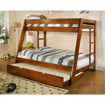 Двухъярусная Кровать Немезида из Натурального Дерева