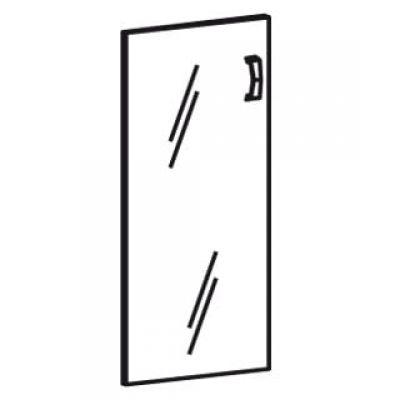 Стеклянные двери (1 створка)