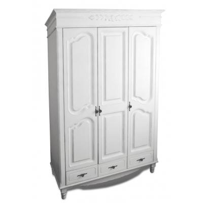 Шкаф Фиерта 38 с 3 дверцами, цвет Белая Ваниль
