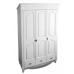 Шкаф Фиерта 38 с 3 дверцами, цвет Белая Ваниль, фото 1, цена