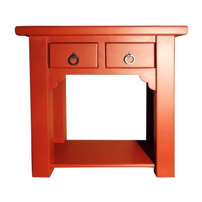 Компьютерный столик красный