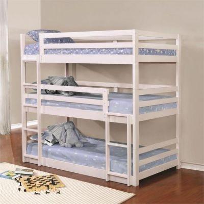 Трехъярусная трехспальная кровать Kodo