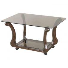 Журнальный столик со стеклянной столешницей Стиль