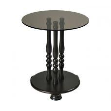 Журнальный столик со стеклянной столешницей Каприз