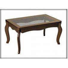 Журнальный столик со стеклянной столешницей Венеция
