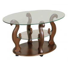 Журнальный столик со стеклянной столешницей Шарм