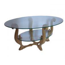 Журнальный столик со стеклянной столешницей Гранд