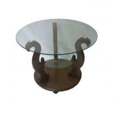 Журнальный столик со стеклянной столешницей Версаль