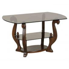 Журнальный столик со стеклянной столешницей Орион