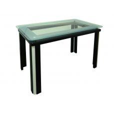 Стол со стеклянной столешницей Гелиос