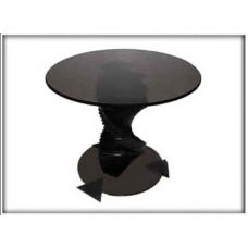 Журнальный столик со стеклянной столешницей Домино