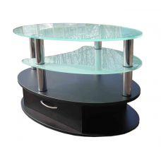 Журнальный столик со стеклянной столешницей СТ-604