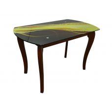 Стол со стеклянной столешницей Классик-4