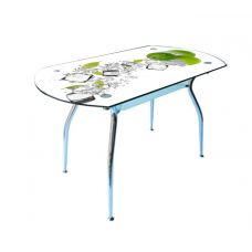 Стол со стеклянной столешницей Кристалл