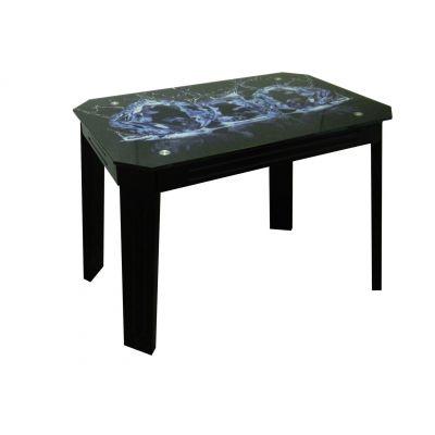 Стол со стеклянной столешницей Модерн