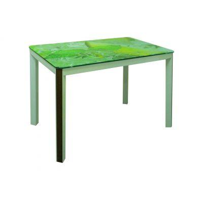Стол со стеклянной столешницей Престиж