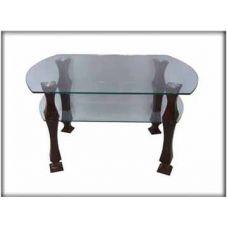 Журнальный столик со стеклянной столешницей Грация