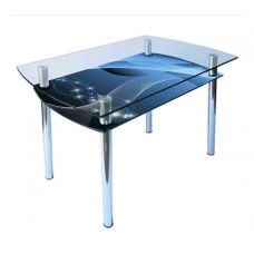 Стол со стеклянной столешницей КС-4