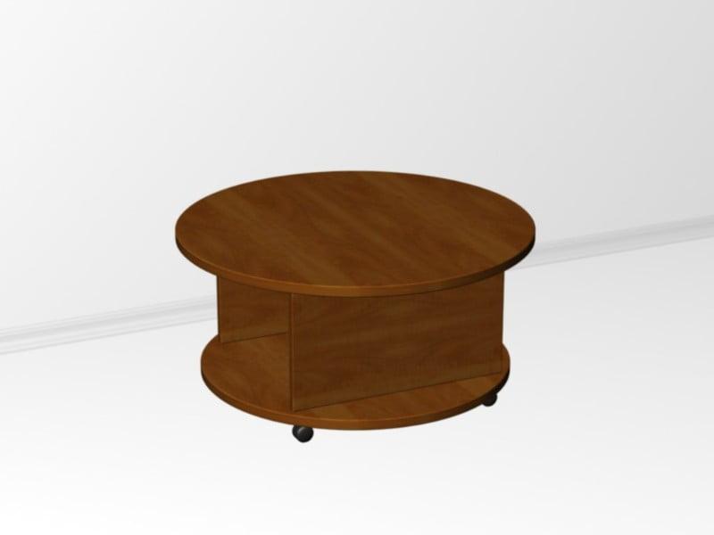 Круглый стол на колесиках своими руками 42